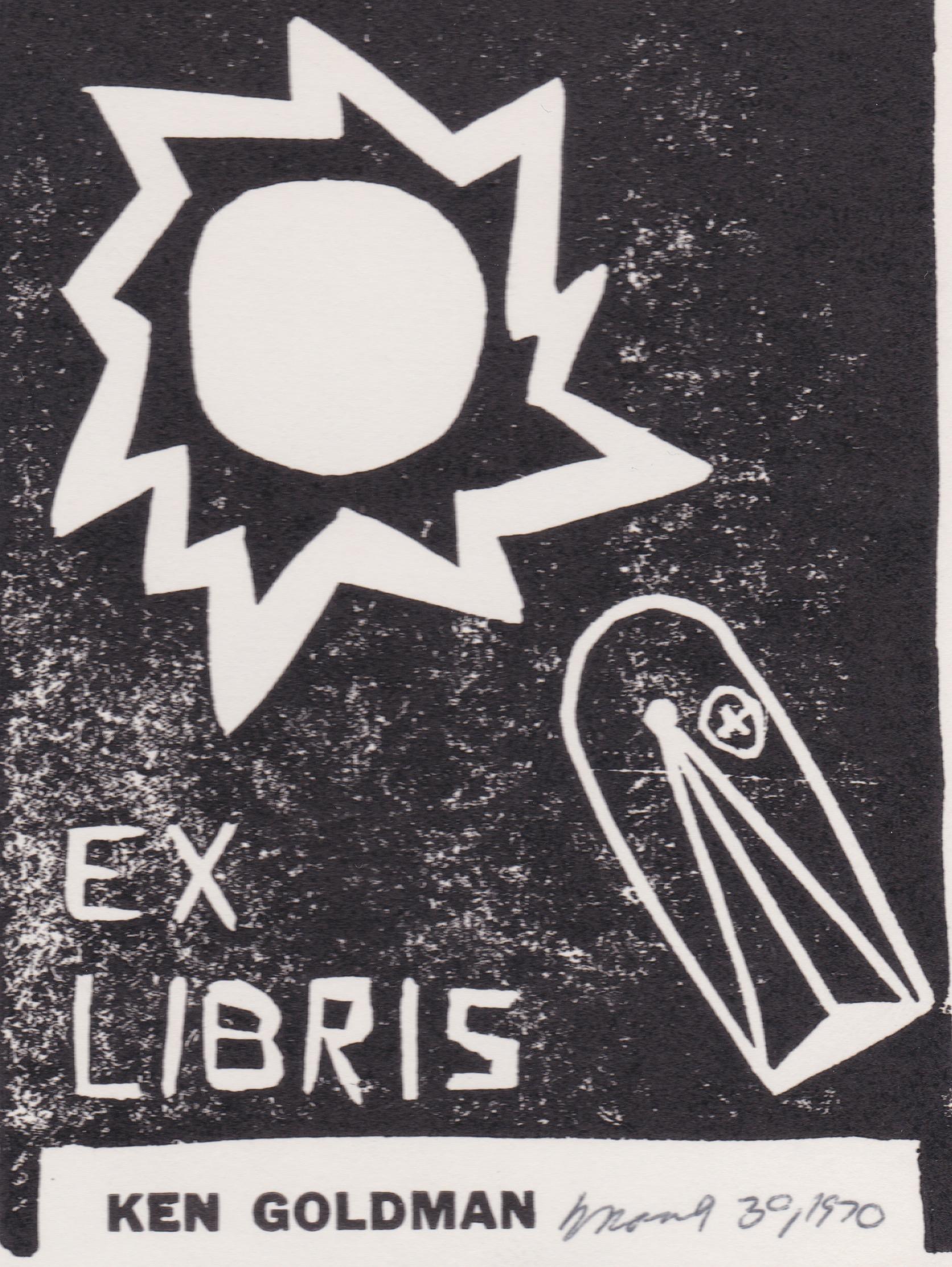 19700330 - Ken SciFi Bookplate